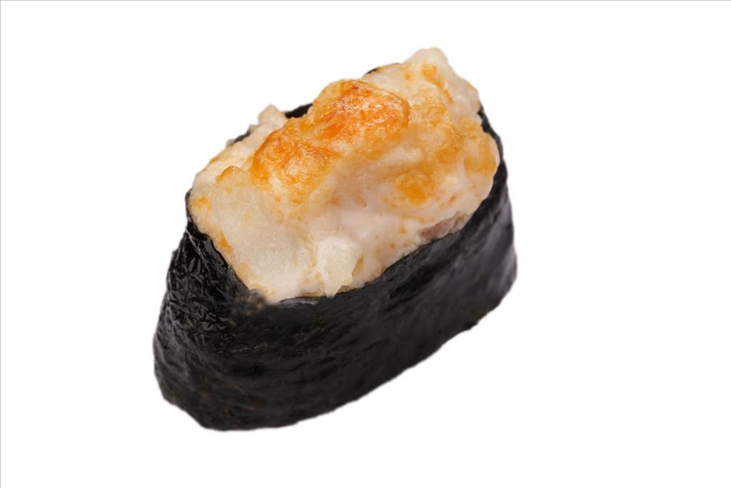 Запеченные суши Гребешок